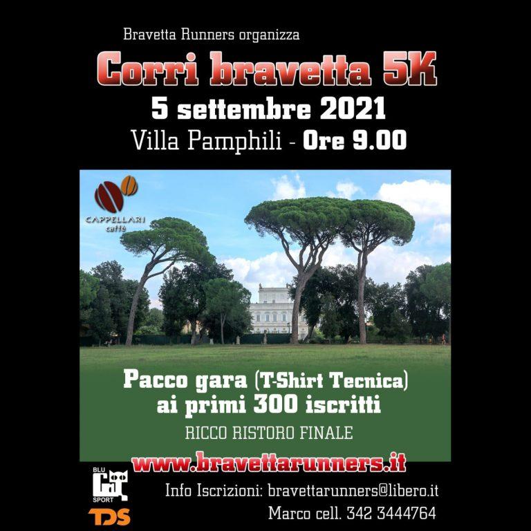 Corri Bravetta 5K – 05 settembre 2021